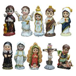 10cm Fashion little Resin Holy Statue (CA033)