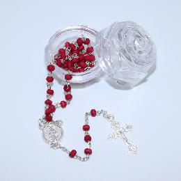 3.5cm catholic Rose Packing box for littlet rosary (P023)