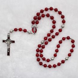 8mm Glass Beads Rosaries (CR063)