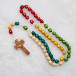 10*8mm Wooden Beads Rosaries (CR066)