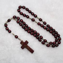 10*8mm Wooden Beads knotted Rosaries (CR067)