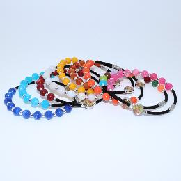 8mm Resin Beads Rosary Bracelet (CB165)