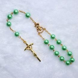 8mm Crucifix Praying Car Rosary beads (CB002)