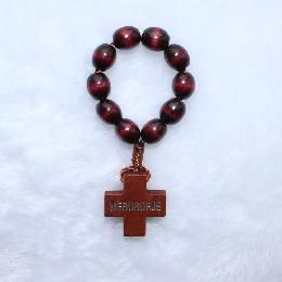 10*8mm one decade saint finger rosary (CE001)