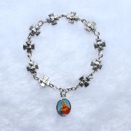 Finger Rosary - Religious Bracelet Catholic Finger Rosary
