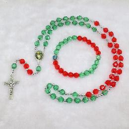 8mm customized knotted rosary neklace jewelry (CRS011)