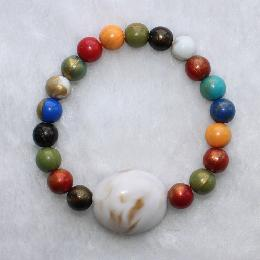 12mm Custom Jewelry Bead Bracelet (AJ036)