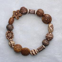 14mm Custom Bead Bracelet (AJ042)
