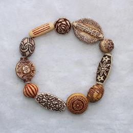 20mm Wrap Beads Bracelet (AJ044)