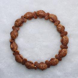 14mm Elastic beaded bracelet (AJ045)