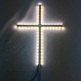 42cm Glowing grave cross (CA100) for Iceland